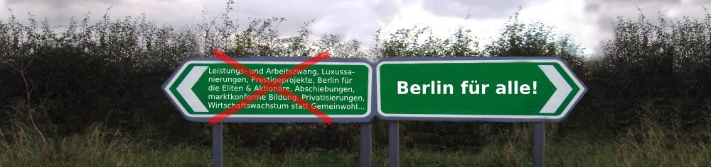Berlin für Alle!